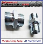 OIL COOLER HOSE PIPE FITTINGS - 1/2 BSP x 5/8 BSP Male Male Steel Adaptors